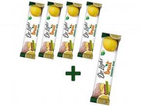 AKCE - Tyčinka ovocná Dr.Light Fruit ENERGY-BAR 30g 4+1 ZDARMA
