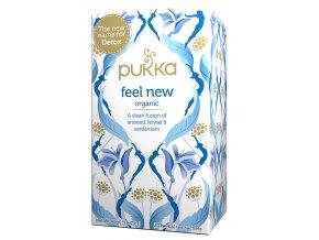 Bio čaj Detoxikační Detox feel new 20x2g