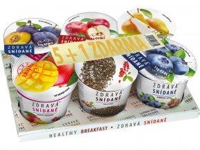 Zdravá snídaně varianta B AKCE 5+1