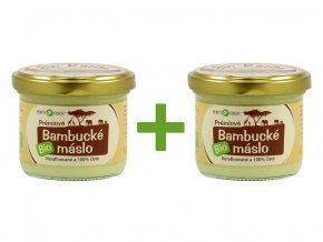 Bio Bambucké máslo 350ml AKCE 1+1