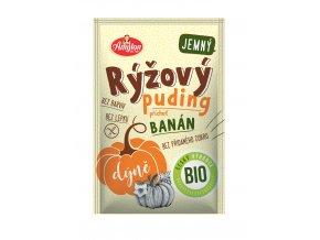 Bio Rýžový puding s dýní a příchutí banánu 40g