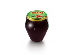 Med s ovocem brusinkový 400g