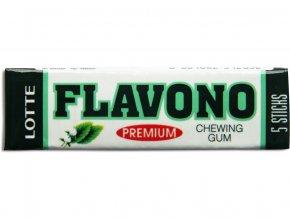 Žvýkačky Flavono zelený čaj 5 plátků 12,5g