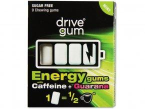 Žvýkačky pro řidiče Drive Energy Gum s Guaranou 21g/9ks