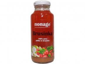Bio Brusinka & Jablko 100% juice 250ml