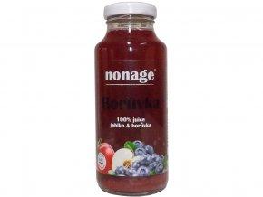 Bio Borůvka & Jablko 100% juice 250ml