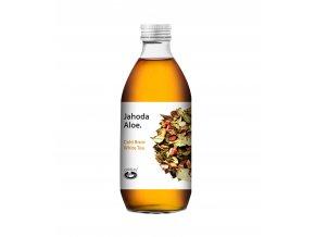 Ledový nápoj Jahoda-aloe 330ml
