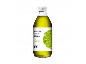 Ledový nápoj Matcha Máta 330 ml