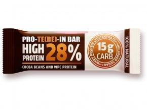 Tyčinka PRO-TE(BE)-IN kakaové boby a kakao 35g