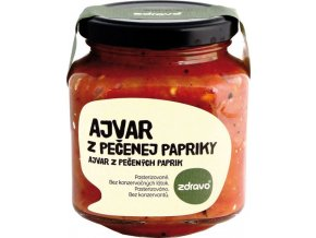 Ajvar z pečené papriky 300g