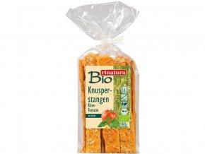 Bio Křupavé tyčinky sýr a rajče 200g