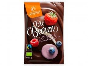 Bio Lesní ovoce mix čokolády 50g