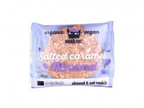 Bio Koláček ovesný mandle a slaný karamel 50g