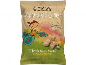 Bio Snack Schmeckerlinge čočkovo rýžový s příchutí pizza 30g