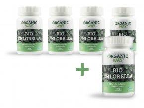 Bio Chlorella 100g 400 tbl. AKCE 4+1