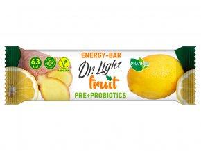 Tyčinka ovocná  Dr.Light fruit Energy-Bar PRE + PROBIOTIKA 30g
