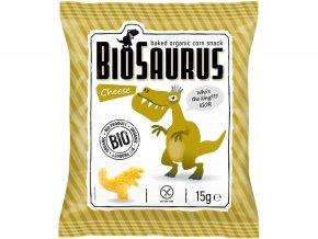 AKCE - Bio Biosaurus křupky se sýrem 15g, min.trv.13.9.2019