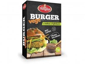 AKCE - Vege Burger s čočkou a bylinkami Amylon 125g, min.trv.15.10.2019
