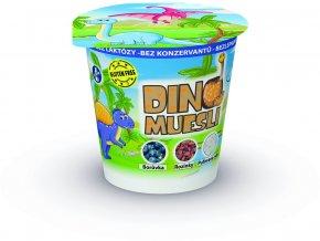 Křupavé muesli Dino pro děti s borůvkami 33g