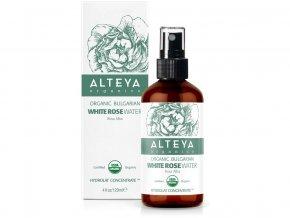 Bio Růžová voda z bílé růže sprej/sklo 120ml