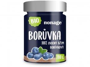 Bio Borůvkový ovocný džem 200g