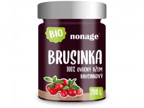 Bio Brusinkový ovocný džem 200g