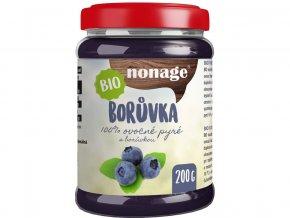 Bio Borůvkové ovocné pyré 200g