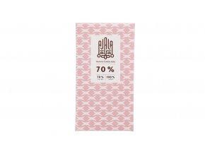 Bio čokoláda 70% tmavá výběrové boby 45g
