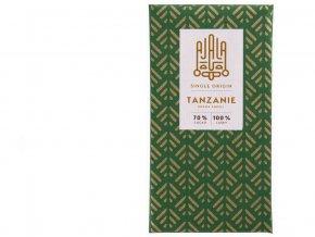 Bio výběrová čokoláda 70% Tanzánie Kokoa Kamili 45g