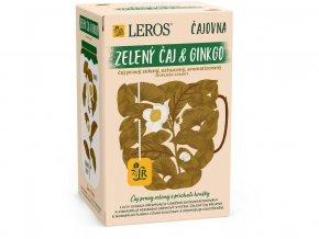 Ginkgo a zelený čaj Čajovna 20x2g