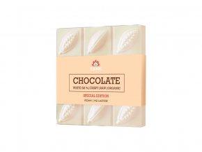 Bio bílá čokoláda s chufou 75g