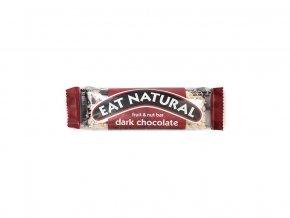 Tyčinka hořká čokoláda s brusinkami a makadamovými ořechy 45g