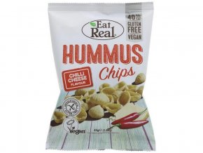 Snack hummus Chips chilli cheese 45g