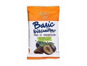 Oplatka švestková Basic biscuit pH+ 50g