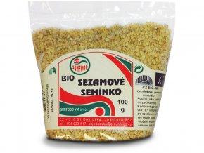 AKCE - Bio Sezamové semínko 100g, min.trv.31.12.2019