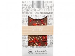 Čokoláda zdobená mléčná superfruit 100g