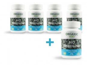 Bio Spirulina 100g 400tb. AKCE 4+1