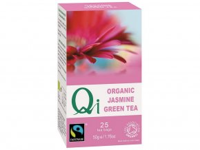 Bio zelený čaj Qi Y. Mountains s jasmínem 25x2g