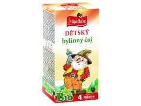 Bio Dětský bylinný čaj Loupežník 20x1,5g