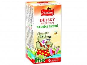 Bio Dětský čaj dobré trávení Vlk 20x1,5g