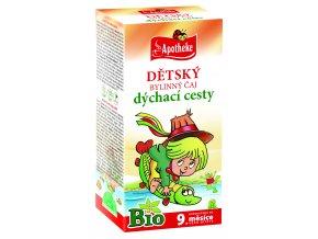 Bio Dětský čaj dýchací cesty Vodník 20x1,5g