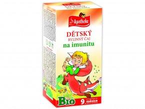 Bio Dětský čaj na imunitu Budulínek 20x1,5g