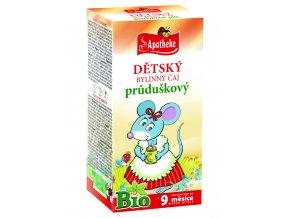 Bio Dětský čaj průduškový Myška 20x1,5g