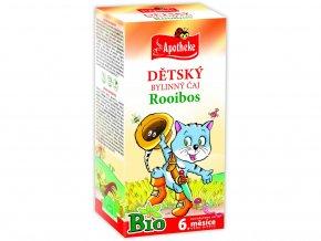 Bio Dětský čaj rooibos Kocour 20x1,5g