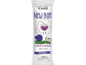 Cereální tyčinka New Bar tvaroh borůvka 28g