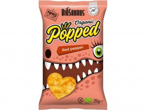 Bio snack Biosaurus red pepper Popped 25g