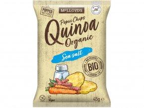 Bio popiii Quinova sea salt 45g
