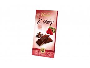 Hořká čokoláda 70% z lásky 80g