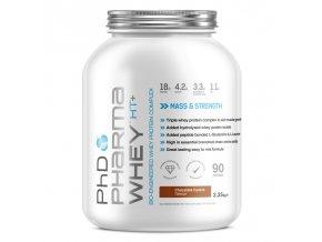 Pharma Whey HT+ Čokoláda oříšek 2,25 kg DMT: 31.3.2020