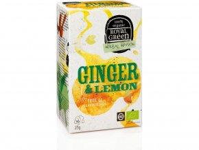 Bio zázvorový čaj Ginger & Lemon 28g